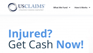 US Claims Pre Settlement Funding Company