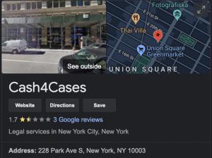 Cash4Cases Pre Settlement Funder